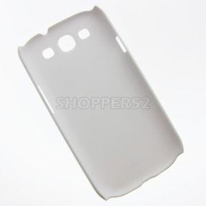 White Samsung Galaxy S3 I9300 Moshi Matte Plastic Hard Back Case Cover