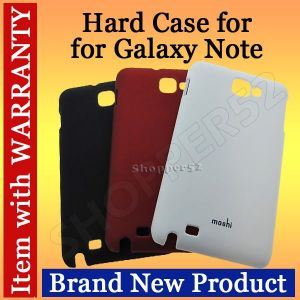 Moshi Matte Plastic Hard Back Case Protective Case For Samsung Galaxy Note