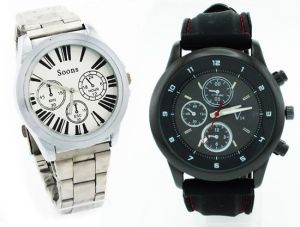 Buy 1 Get 1 Free - Designer Mens Stylish Wrist Watch Mw017