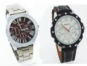 Buy 1 Get 1 Designer Mens Stylish Wrist Watch Mw031