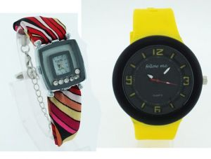 Buy 1 Ladies Get 1 Designer Mens Stylish Wrist Watch Mw035