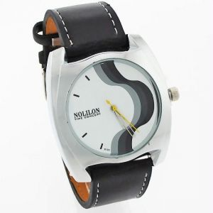 Mens Leather Belt Wrist Watch - Mw1027