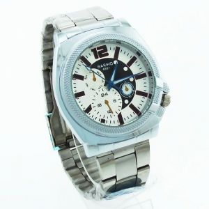 Mens Stainless Steel Belt Wrist Watch Mw1693