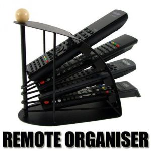 Shopper52 Multi Remote Control Stand For All Remotes - Remstd01