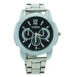 Mens Steel Belt Chrono Wrist Watch Date Display-02