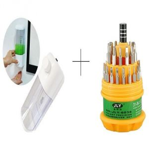 Buy Single Soap Dispenser With Free Jackly 31 In 1 Screwdriver Set Toolkit - Sdis1tl