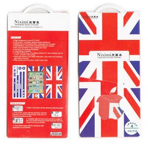 Designer Front And Back Screen Protector Skin For Apple iPhone 4 4s Scr4018