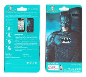 Screen Protectors - Designer Front and Back Screen Protector Skin For Apple iPhone 4 4S SCR4024