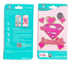 Designer Front And Back Screen Protector Skin For Apple iPhone 4 4s Scr4027