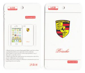 Designer Front And Back Screen Protector Skin For Apple iPhone 4 4s Scr4036