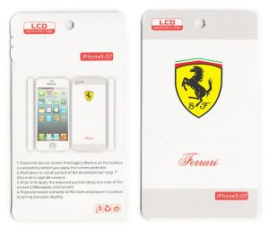 Designer Front And Back Screen Protector Skin For Apple iPhone 5 Scr514