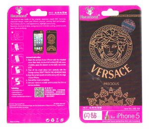 Designer Front And Back Screen Protector Skin For Apple iPhone 5 Scr523