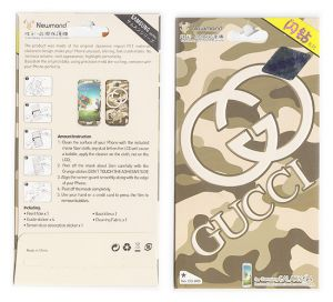 Designer Front And Back Screen Protector For Samsung Galaxy S4 I9005 Src406