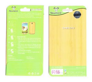 Screen Protectors - Designer Front and Back Screen Protector For Samsung Galaxy S4 i9005 SRC408