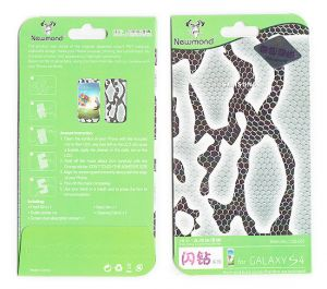 Designer Front And Back Screen Protector For Samsung Galaxy S4 I9005 Src411