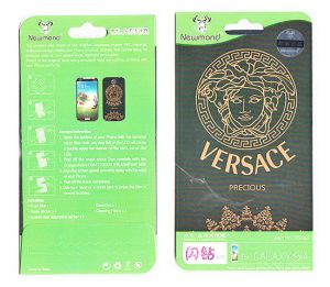 Samsung Screen Protectors - Designer Front and Back Screen Protector For Samsung Galaxy S4 i9005 SRC414