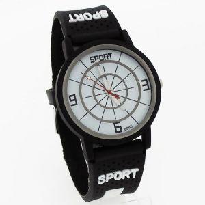 Sports Wrist Watch Fiber Belt Mw1050-5