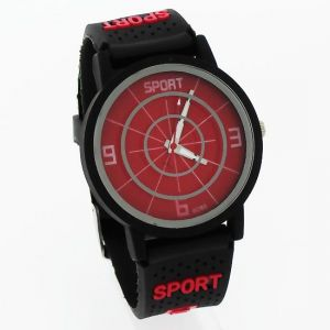 Sports Wrist Watch Fiber Belt Mw1051-5