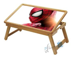 Spiderman Multipurpose Foldable Wooden Study Table For Kids Wdtb6