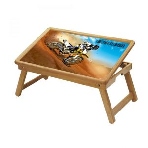 Automobiles Multipurpose Foldable Wooden Study Table For Kids - Study 135