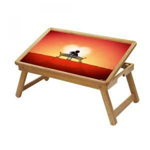 Spiritual Multipurpose Foldable Wooden Study Table For Kids - Study 138