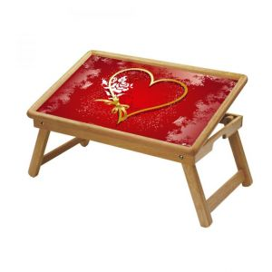 Spiritual Multipurpose Foldable Wooden Study Table For Kids - Study 139