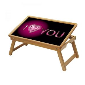 Spiritual Multipurpose Foldable Wooden Study Table For Kids - Study 141