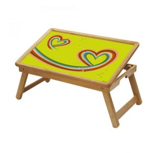 Spiritual Multipurpose Foldable Wooden Study Table For Kids - Study 142