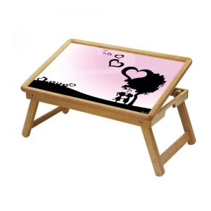Spiritual Multipurpose Foldable Wooden Study Table For Kids - Study 143