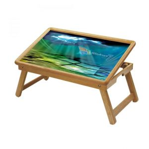 Windows Logo Multipurpose Foldable Wooden Study Table For Kids - Study 152