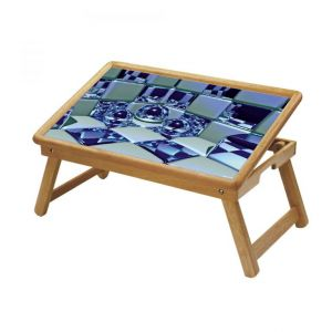 Multipurpose Foldable Wooden Study Table (218)