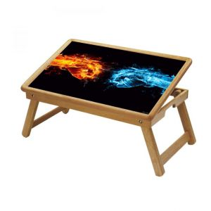 Illusion Multipurpose Foldable Wooden Study Table For Kids - Study 448