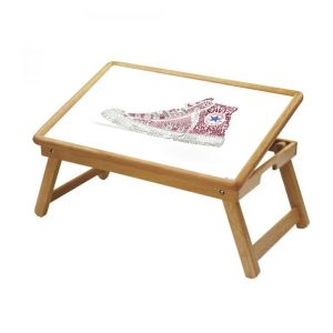 Sports Multipurpose Foldable Wooden Study Table For Kids - Study 470