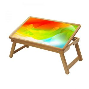 Graffiti Multipurpose Foldable Wooden Study Table For Kids - Study 473