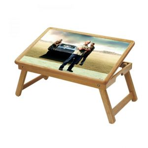 Famous Personalities Multipurpose Foldable Wooden Study Table For Kids - Study 489