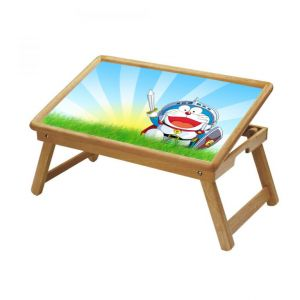 Doraemon Multipurpose Foldable Wooden Study Table For Kids
