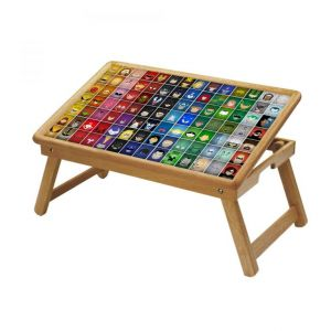 Comic & Cartoons Multipurpose Foldable Wooden Study Table For Kids - Study 527