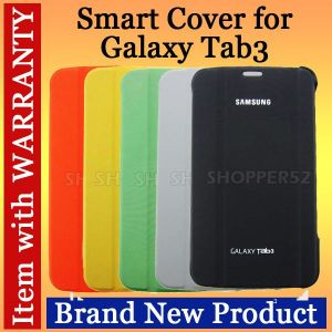 Ultra Slim Leather Case Book Cover For Samsung Galaxy Tab 3 7.0 T210 P3200 White