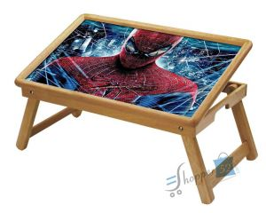 Spiderman Multipurpose Foldable Wooden Study Table For Kids
