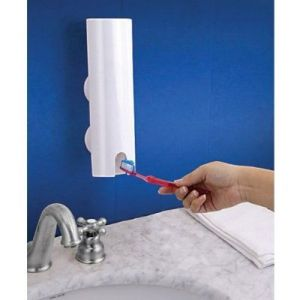 Push N Brush The Amazing Automatic Toothpaste Dispenser