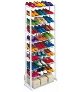 Home Decor & Furnishing - Amazing Shoe Rack Portable With 10 Layer Holds Approx 30 Pairs Shoes
