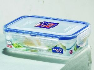 Lock&lock Classics Rectangular Food Container With Leak Proof Locking Lid, 360ml - (code-hpl810c)