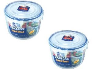 Lock&lock Nestables Round Salad Bowl, 1.4 Litres