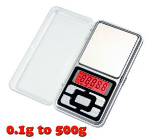 Home Accessories - Gadget Hero's Digital Pocket Weighing Scale 0.1g to 500g.