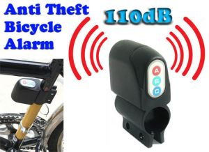 Home Security Systems - Gadget Hero's Bicycle Motor Bike Anti Theft Security Alarm 110dB Loud Sound