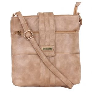 Esbeda Ladies Sling Bag Beige Color (msa01_1369)
