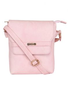 Esbeda Ladies Sling Bag L.pink Color (ma230716_1447)