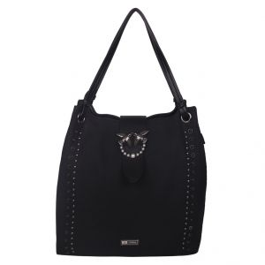 ESBEDA Black Solid PU Synthetic Totebag For Womens (Code - 4214 Black)   Black