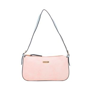 Handbags - ESBEDA L-Pink/L-Blue Color Solid Pu Synthetic Material Hand Bag _ 1762 For Women