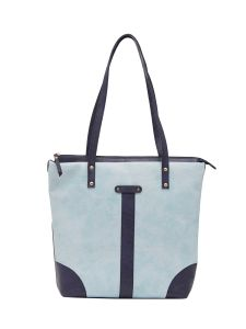 ESBEDA D-Blue-L-Pink Solid Pu Synthetic Fabric Handbag For Women-1842